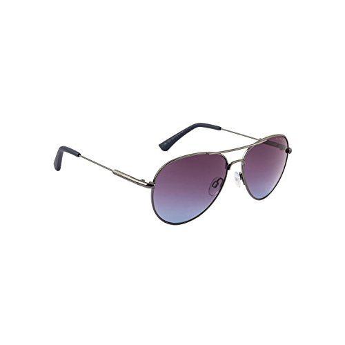 Farenheit UV Protected Aviator Unisex Sunglasses - (SOC-FA-2331-C3 57 Grey Color Lens)