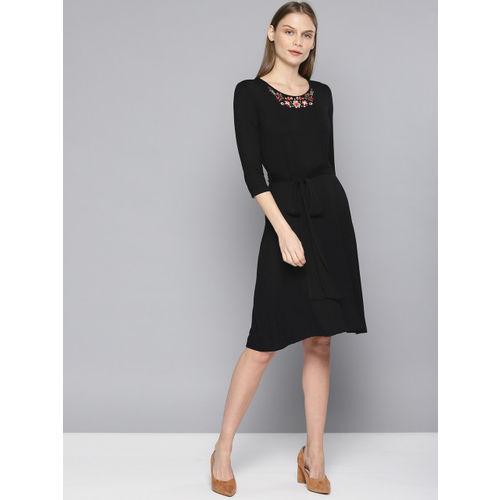 Chemistry Women Black Sheath Dress