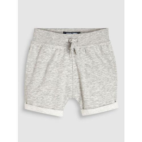 next Boys Grey Solid Regular Fit Regular Shorts
