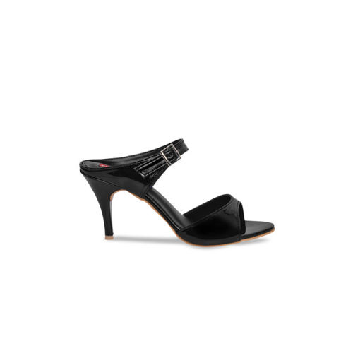 MSC Women Black Solid Heels