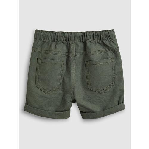 next Boys Khaki Solid Regular Fit Regular Shorts