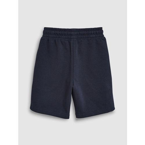 next Boys Navy Blue Solid Regular Fit Regular Shorts