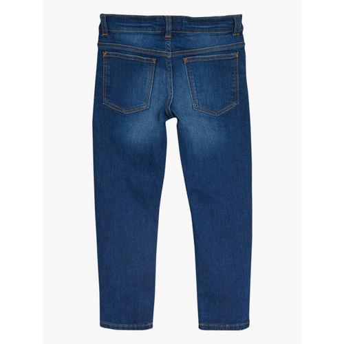 next Boys Blue Slim Fit Mid-Rise Clean Look Jeans