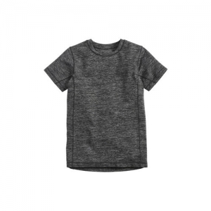 next Boys Charcoal Grey Solid Round Neck T-shirt