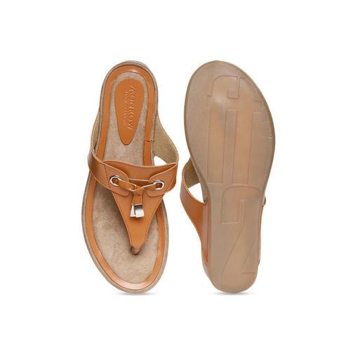 Monrow Women Tan Brown Solid Heels