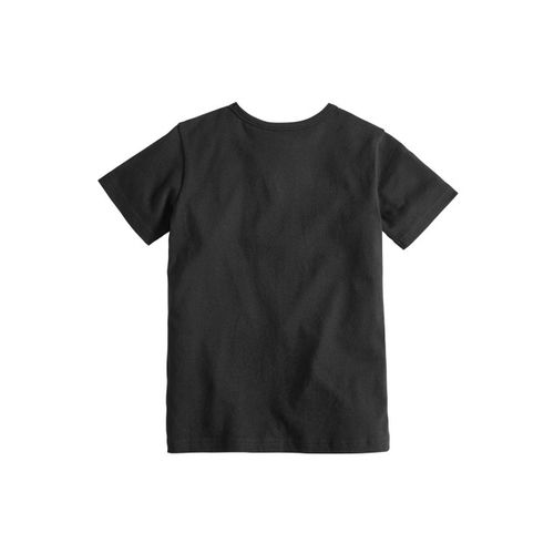 next Boys Black Printed Round Neck T-shirt