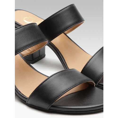 Carlton London Women Black Solid Heels