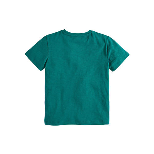 next Boys Teal Printed Round Neck T-shirt