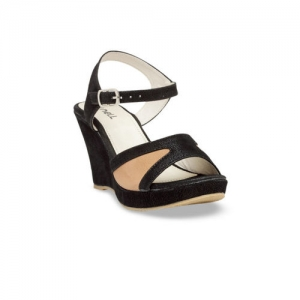 Nell Women Black Colourblocked Heels