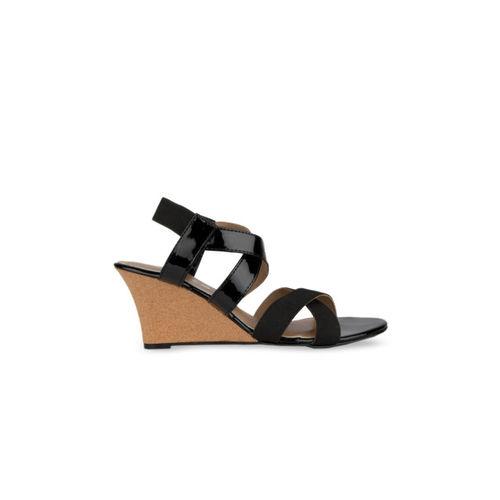 SOLES Women Black Solid Heels