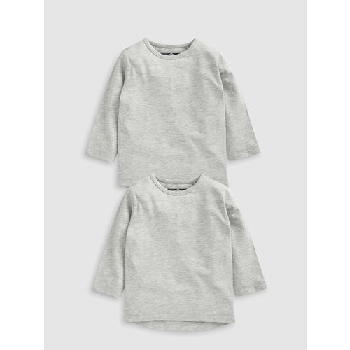 next Boys Pack Of 2 Solid T-Shirts
