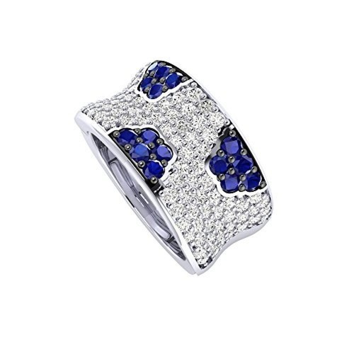 e7c1afeb751f65 ... Zirconia Ring; Pooja & Sonam .925 Sterling Silver and Cubic Zirconia ...