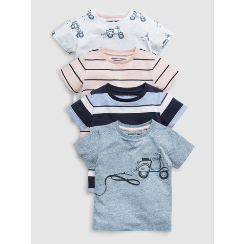 next Boys Pack of 4 T-Shirts