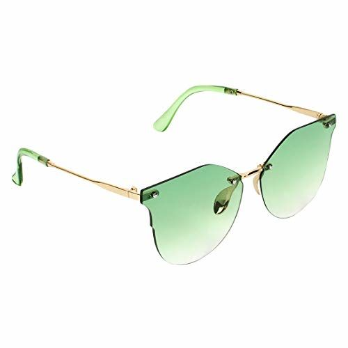 Zyaden Green Over Sized Unisex Sunglasses-225