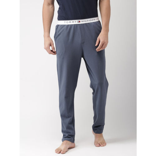 Tommy Hilfiger Men Blue Solid Lounge Pants P8ABN102