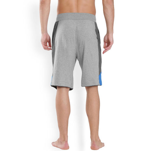 Jockey SPORT Grey Melange Sports Shorts 9415