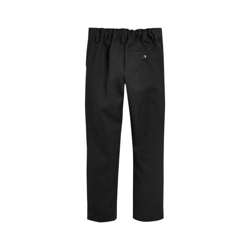 next Boys Charcoal Grey Slim Fit Solid Formal Trousers