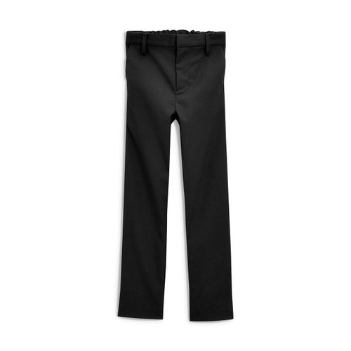 next Boys Black Slim Fit Solid Formal Trousers