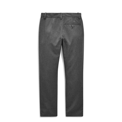 next Boys Grey Solid Trousers