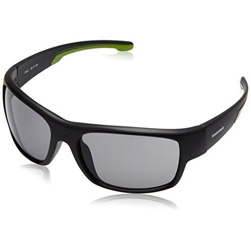 Fastrack UV Protected Sport Men's Sunglasses (P314BK1|60|Smoke (Grey/Black) Color