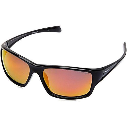 Polaroid Polarized Sport Men's Sunglasses - (PLD 7016/S 807 61OZ|61|Red Color)