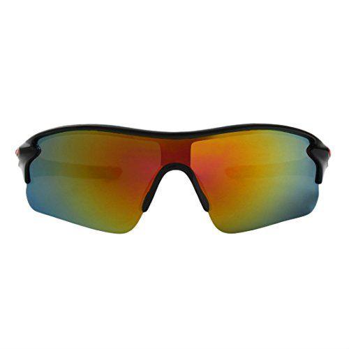 Abner Sports Men's Sunglasses (AB-SPORT-SUN-4|Multicolor)