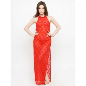 N-Gal Women Nighty(Red)