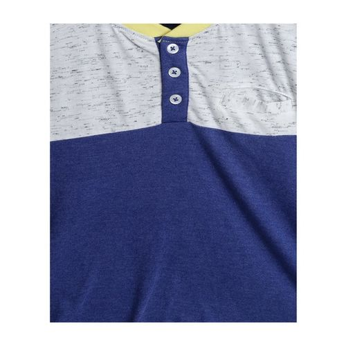 Nauti Nati Kids Navy Textured T-Shirt