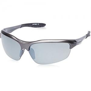 Joe Black Mirrored Sport Unisex Sunglasses - (JB-810-C3|74|Grey Color)