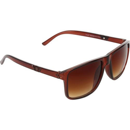 Zesta Wayfarer, Retro Square Sunglasses(Brown)