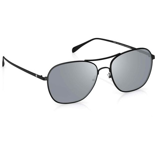 Titan Retro Square Sunglasses(Silver)