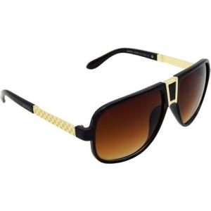 ELS Retro Square Sunglasses(Brown)
