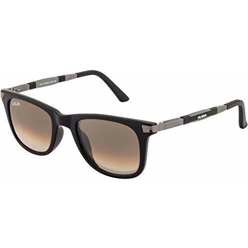 AISLIN UV Protected Wayfarer Men's Sunglasses - (Medium | Brown B2 Lens | AS-1003-51-BRW825)