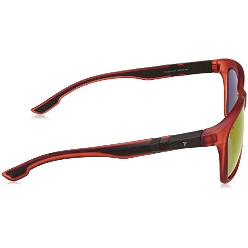 French Connection UV Protected Wayfarer Men's Sunglasses - (FC 7314 C1 S|56|Red Color)