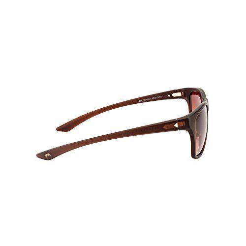 Farenheit UV Protected Wayfarer Unisex Sunglasses - (SOC-FA-2325-C2 55 Brown Color Lens)
