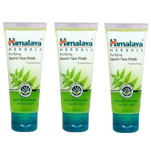 Himalaya Purifying Neem (Combo of 3) Face Wash(50 ml)