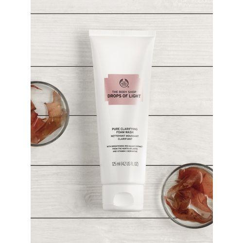 The Body Shop Drops of Light Pure Clarifying Foam Face Wash(125 ml)