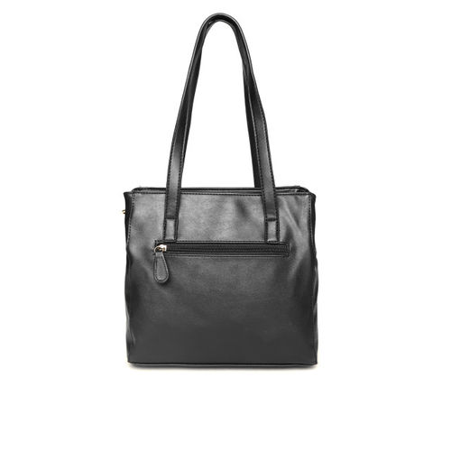Lavie Black Solid Shoulder Bag