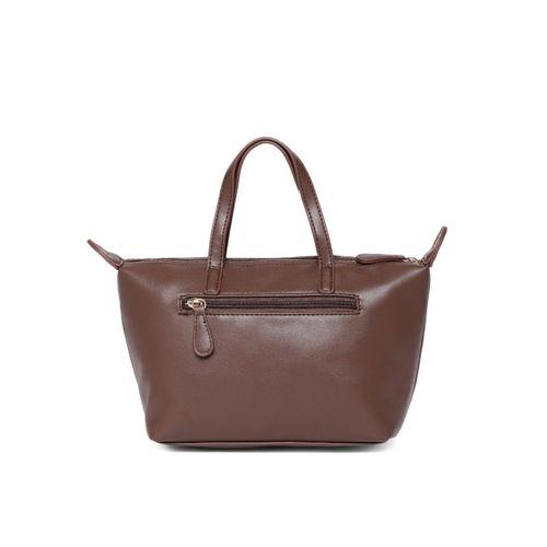 Lavie Brown Textured Handheld Bag