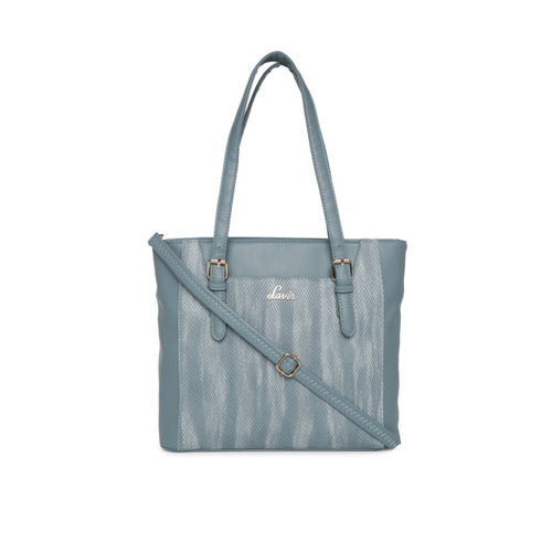 Lavie Blue Textured Shoulder Bag