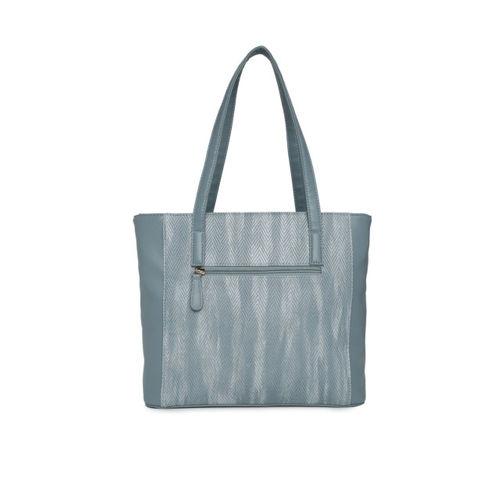 Lavie Blue Textured Shoulder Bag