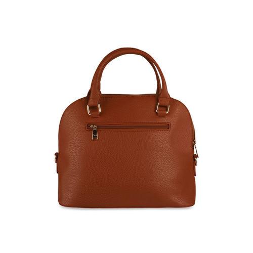 GIORDANO Tan Solid Handheld Bag