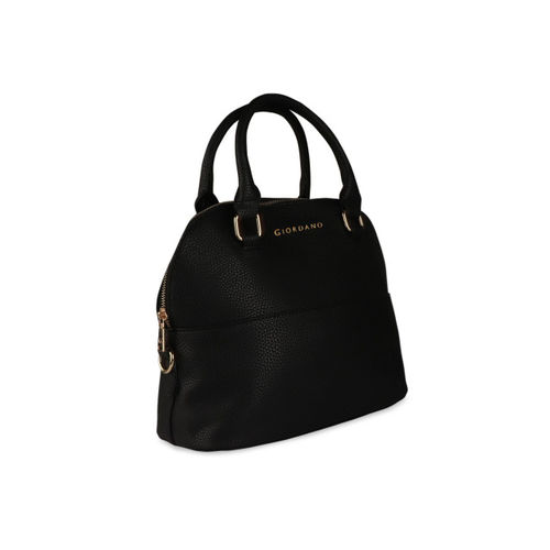 GIORDANO Women Black Solid Handheld Bag