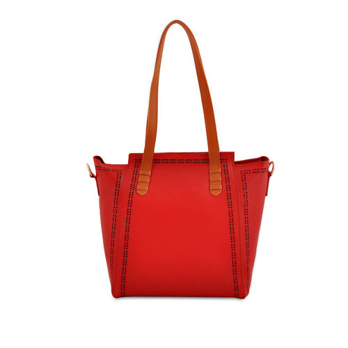 LaFille Women Maroon Set of 2 Handbags
