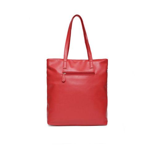 Lavie Red Solid Shoulder Bag