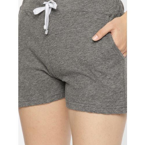 Slumber Jill Women Grey Printed Night suit