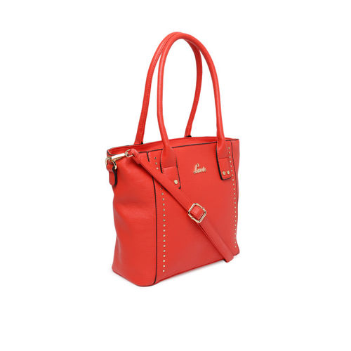 Lavie Red Embellished Shoulder Bag