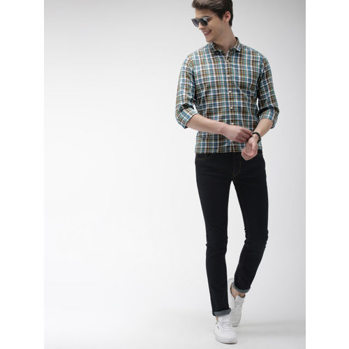 Mast & Harbour Men Multicoloured Checked Casual Shirt