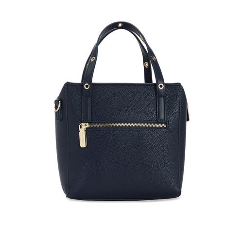 bebe Women Navy Blue & Navy Blue Solid Handheld Bag