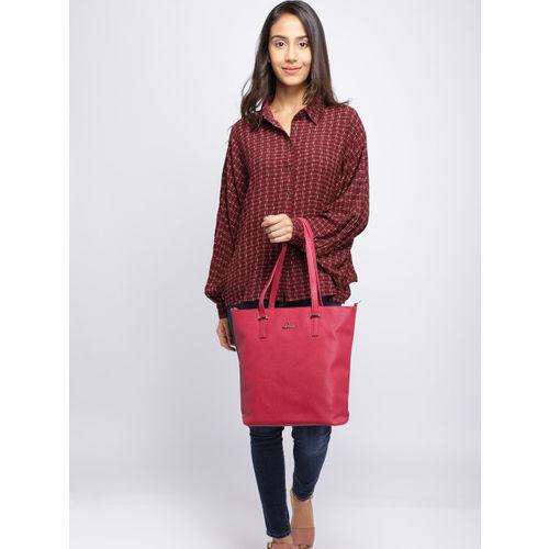 Lavie Pink Solid Shoulder Bag